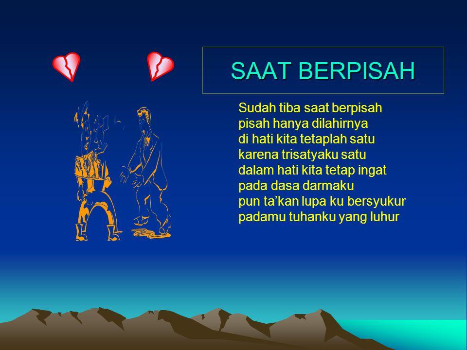 SAAT BERPISAH