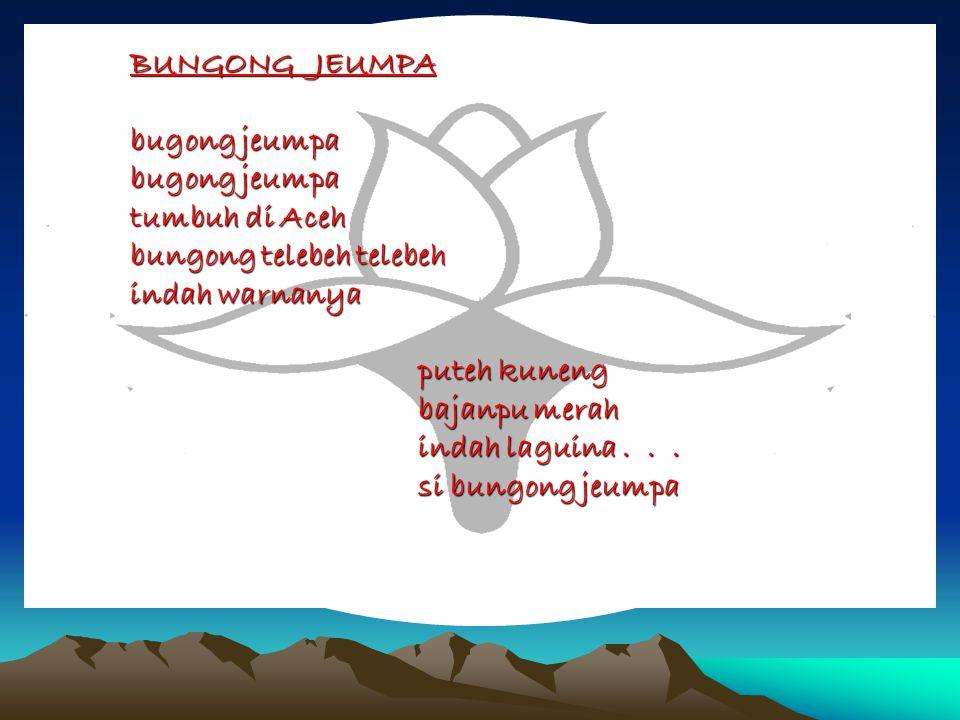 BUNGONG JEUMPA. bugong jeumpa. bugong jeumpa. tumbuh di Aceh