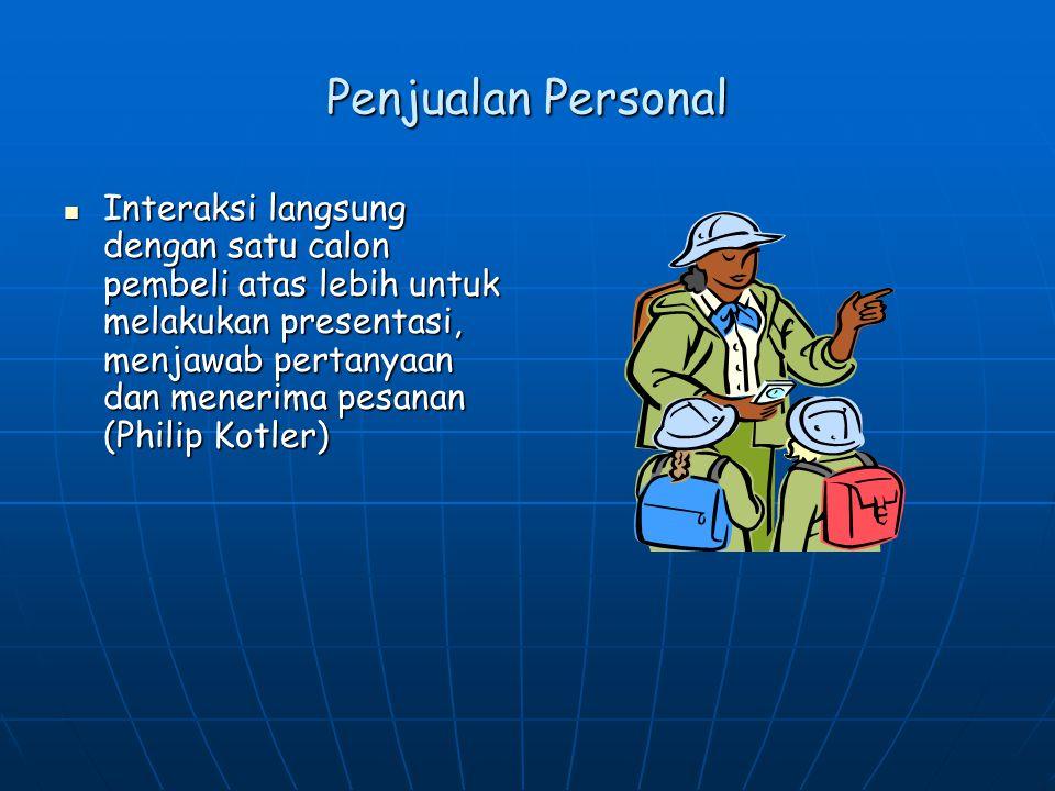 Penjualan Personal