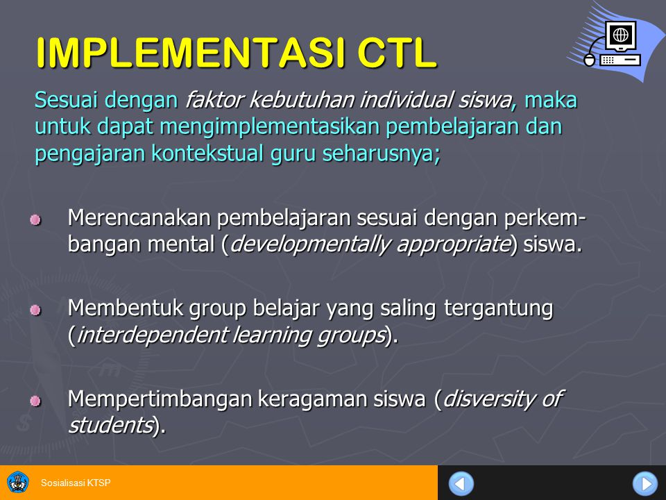 IMPLEMENTASI CTL