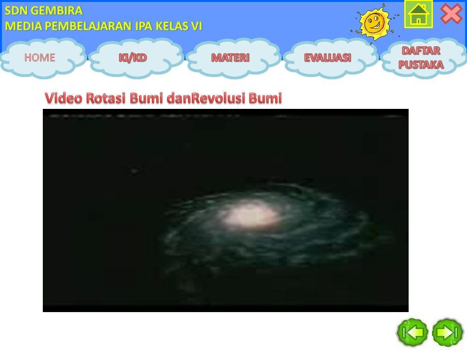 Video Rotasi Bumi danRevolusi Bumi