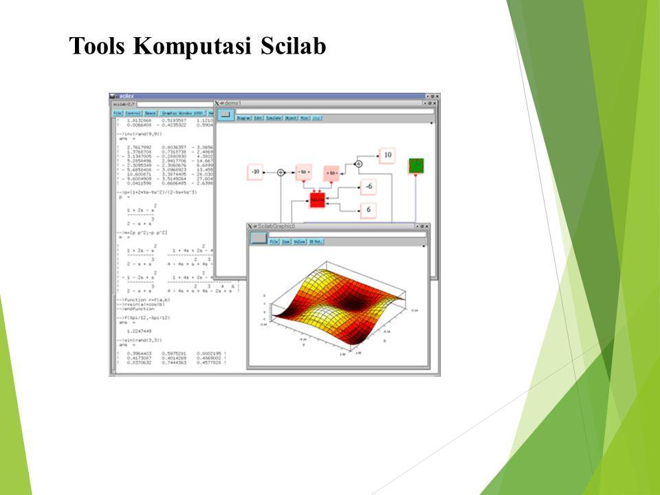 Tools Komputasi Scilab
