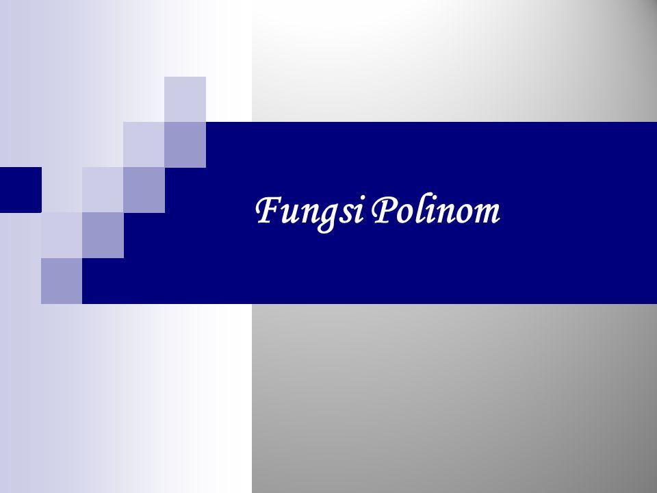 Fungsi Polinom
