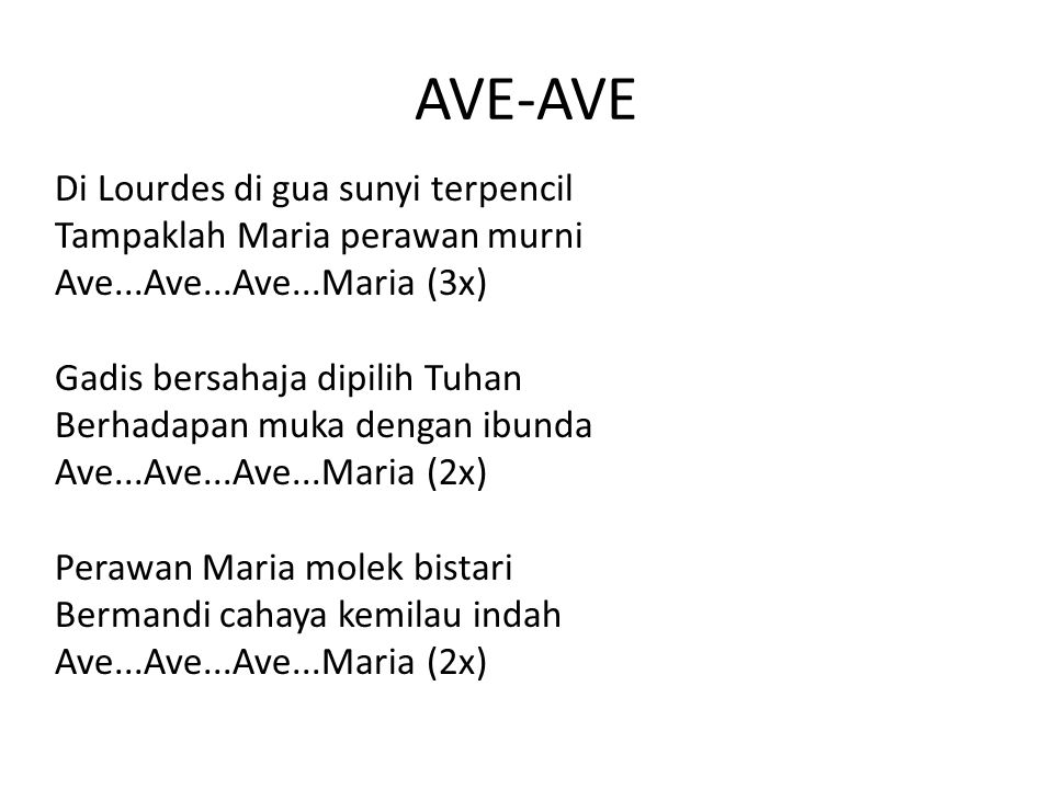AVE-AVE