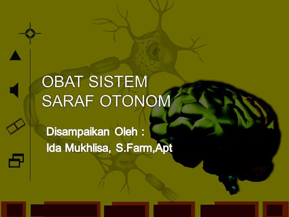 OBAT SISTEM SARAF OTONOM