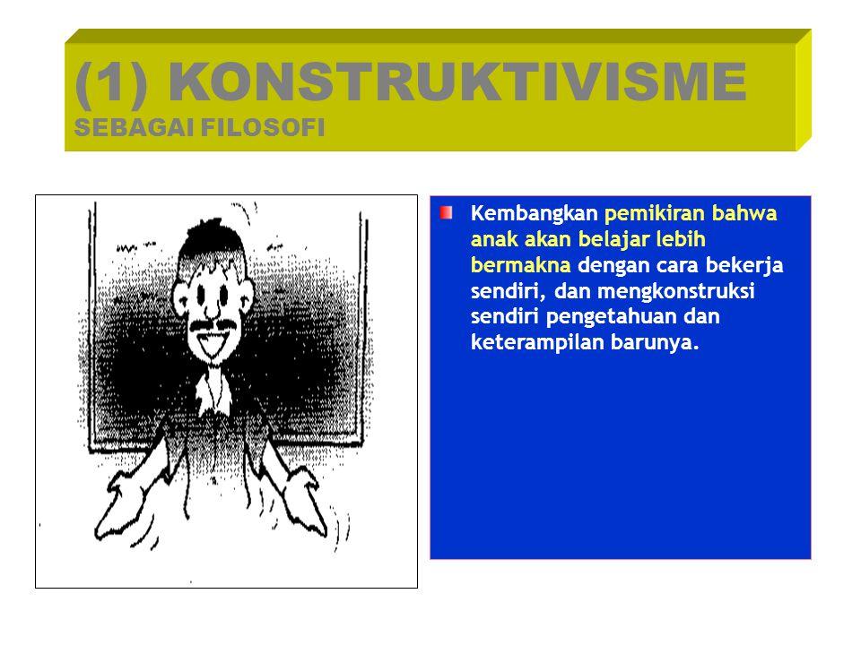 (1) KONSTRUKTIVISME SEBAGAI FILOSOFI