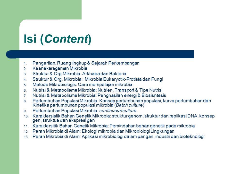 Isi (Content) Pengertian, Ruang lingkup & Sejarah Perkembangan
