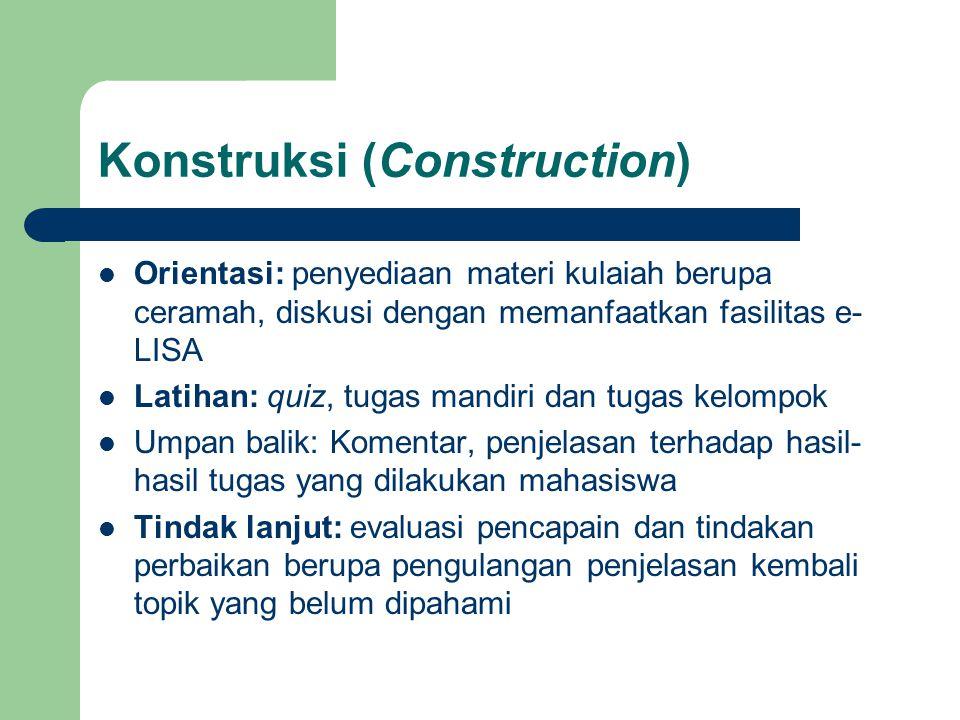 Konstruksi (Construction)