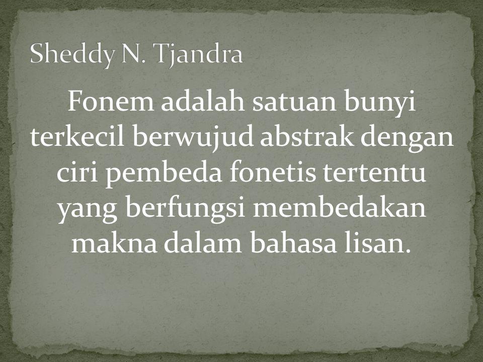 Sheddy N. Tjandra