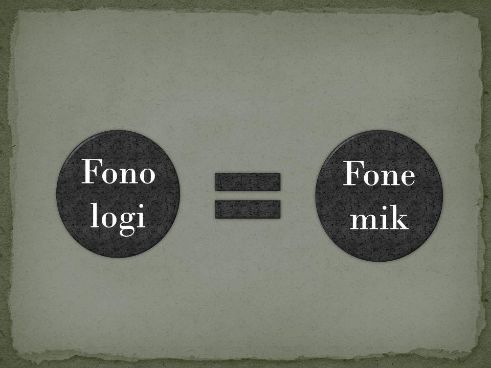 Fonologi Fonemik