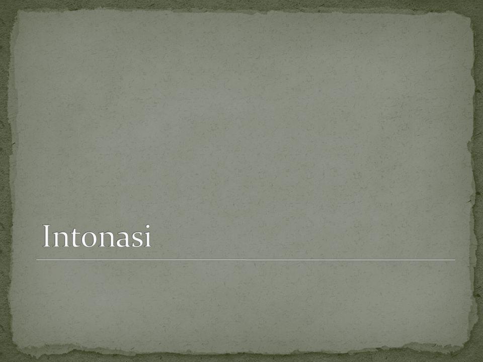 Intonasi