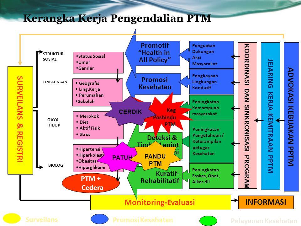 Kerangka Kerja Pengendalian PTM