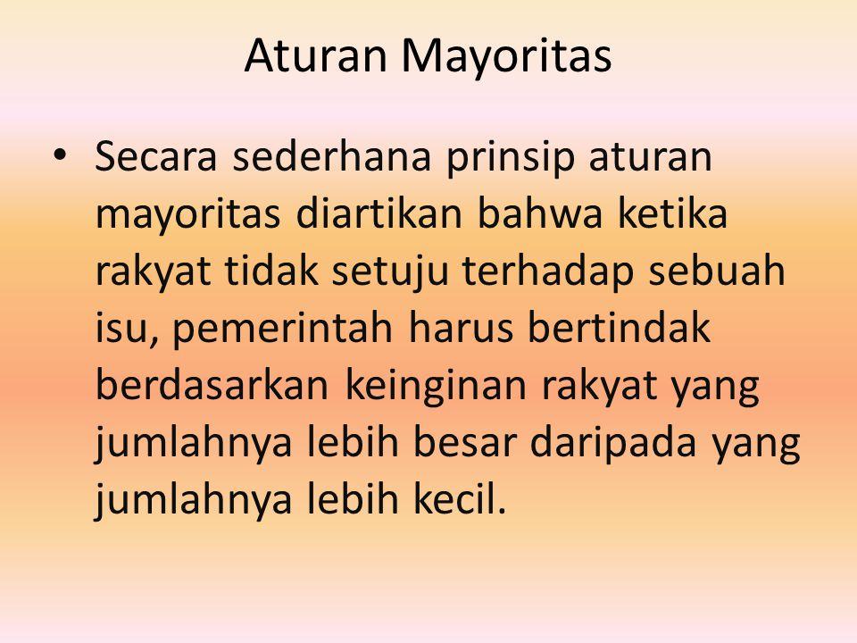 Aturan Mayoritas