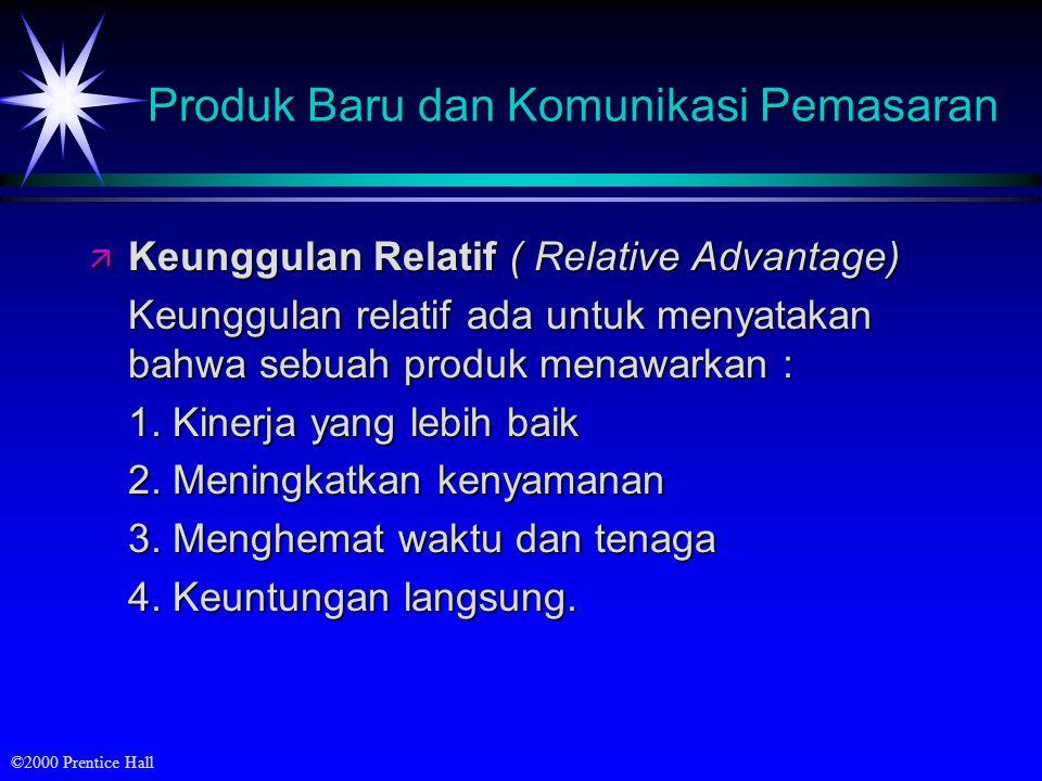 Produk Baru dan Komunikasi Pemasaran