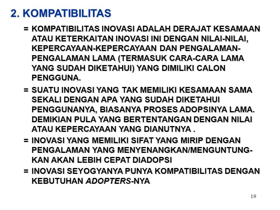 2. KOMPATIBILITAS