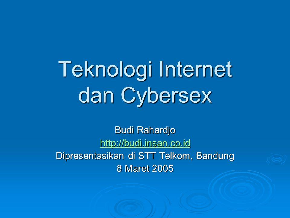 Teknologi Internet dan Cybersex