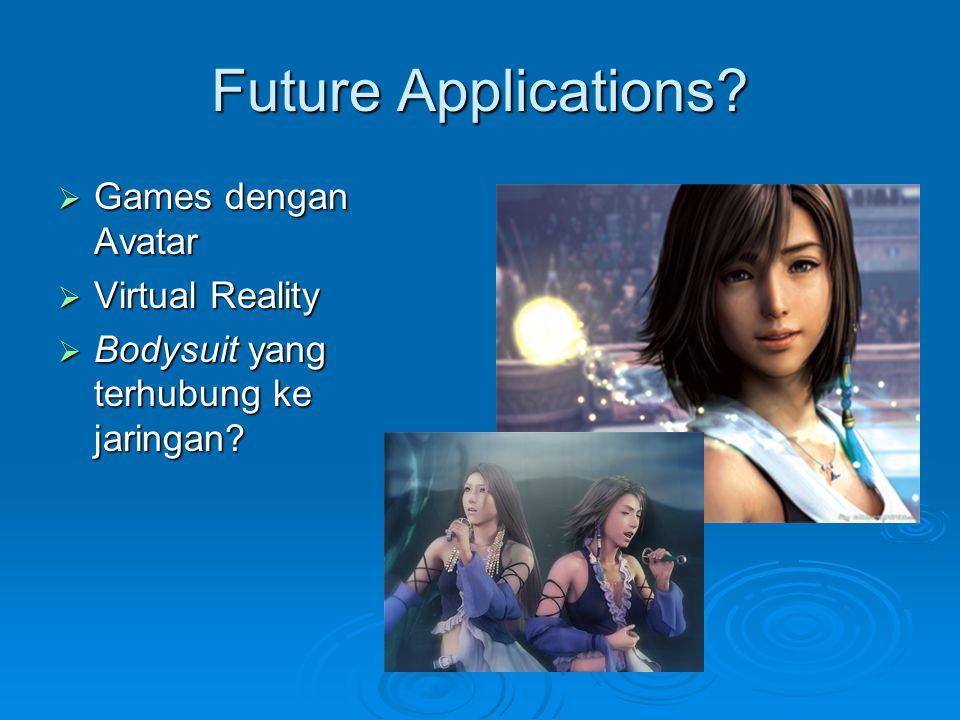 Future Applications Games dengan Avatar Virtual Reality