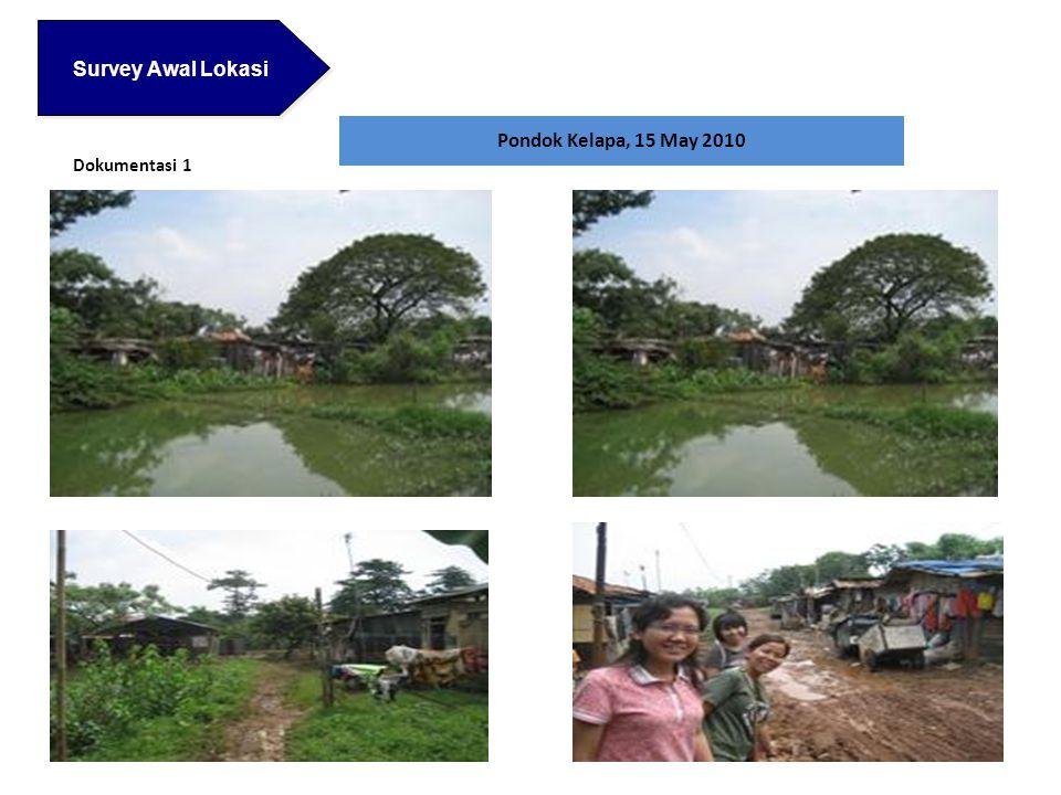 Survey Awal Lokasi Pondok Kelapa, 15 May 2010 Dokumentasi 1