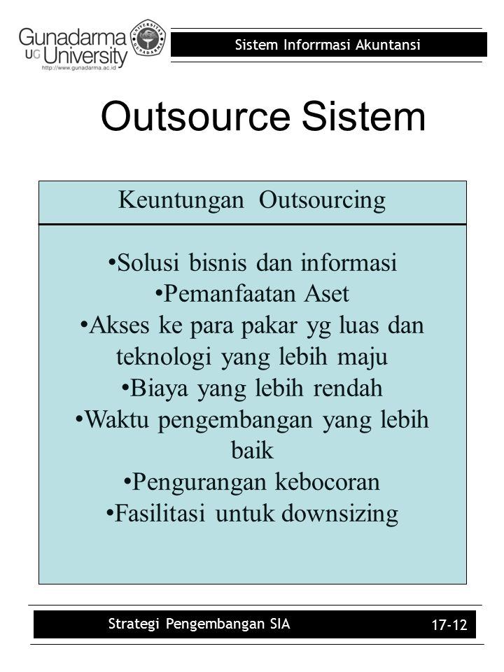 Outsource Sistem Keuntungan Outsourcing Solusi bisnis dan informasi