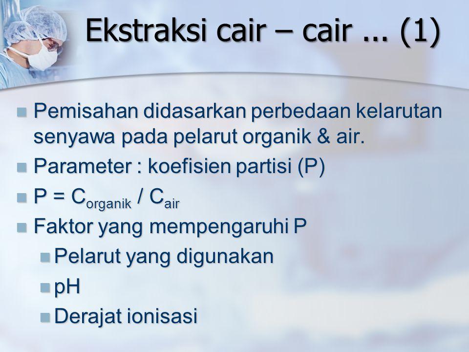Ekstraksi cair – cair ... (1)