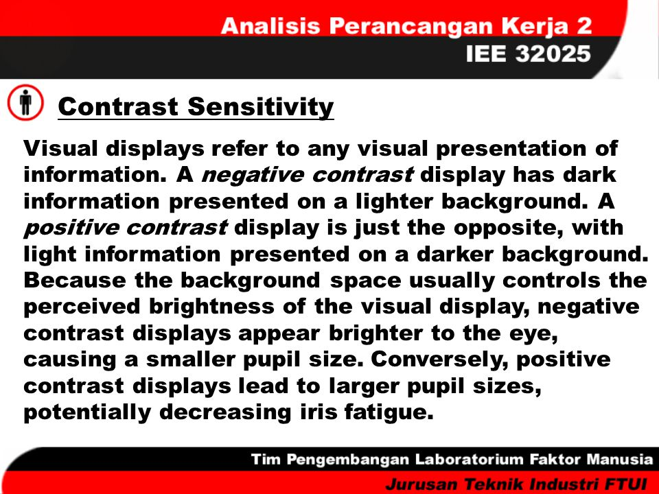 Contrast Sensitivity