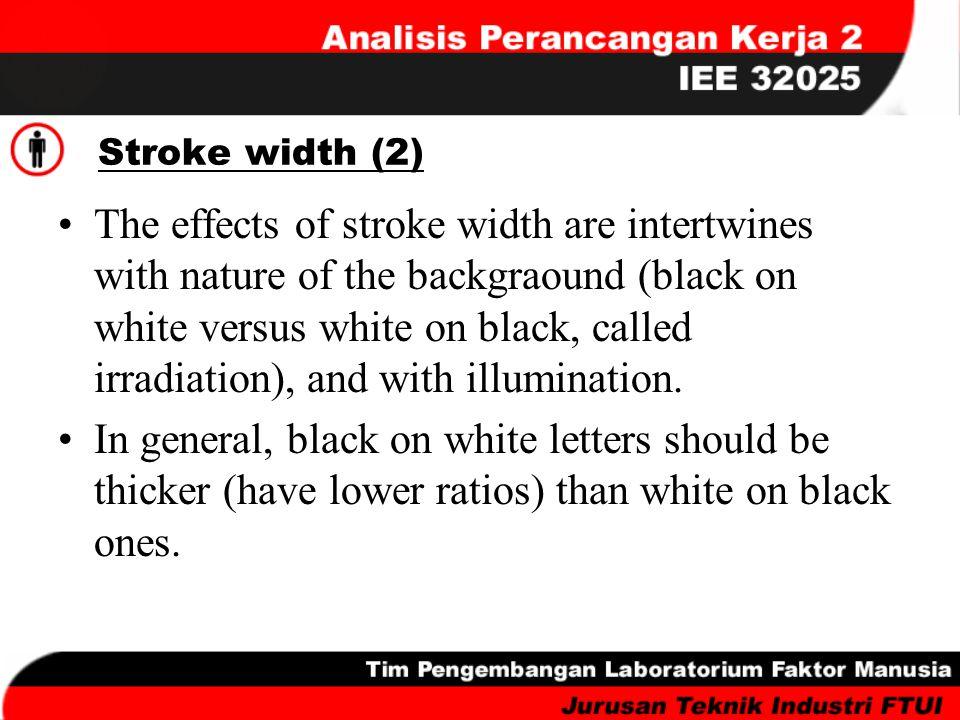 Stroke width (2)
