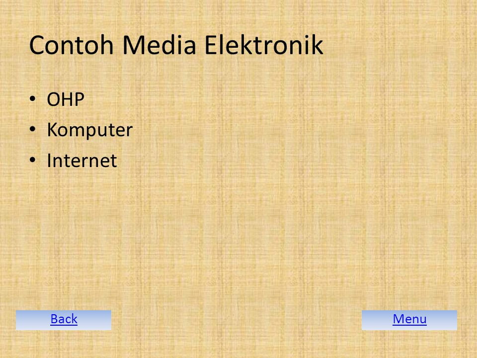 Contoh Media Elektronik