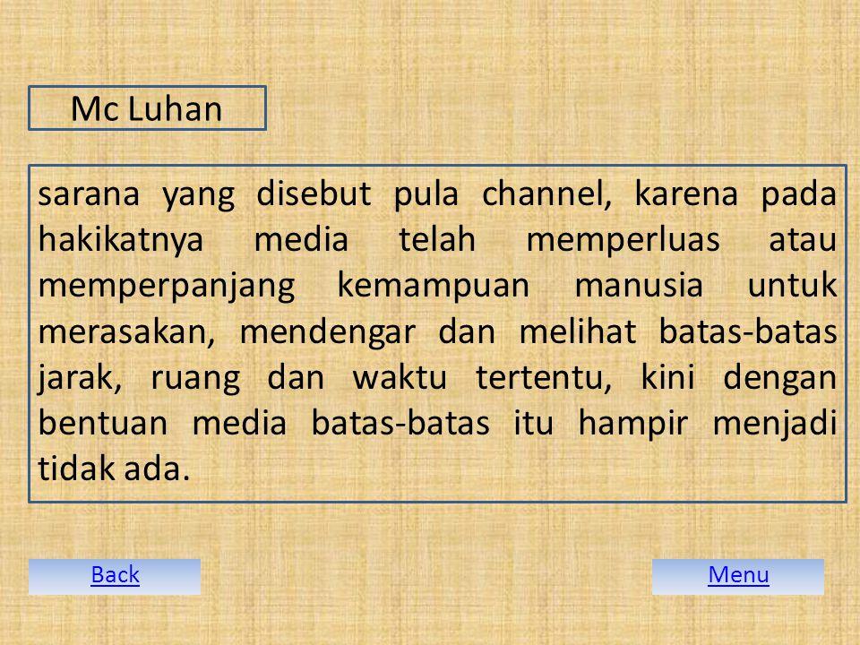 Mc Luhan