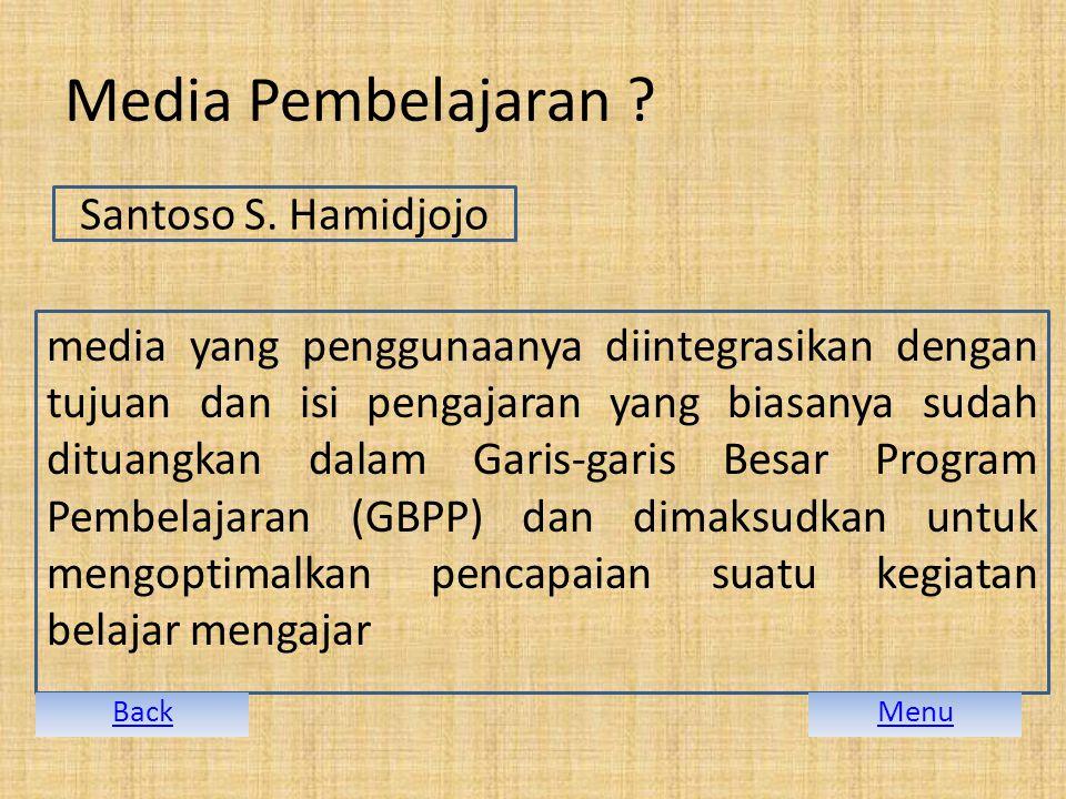Media Pembelajaran Santoso S. Hamidjojo