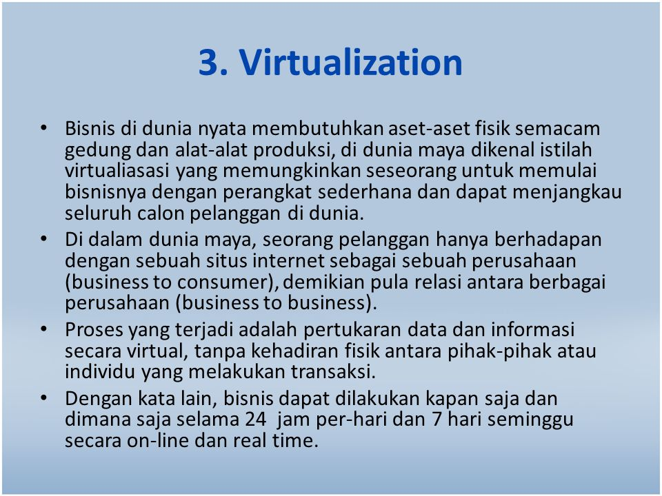 3. Virtualization