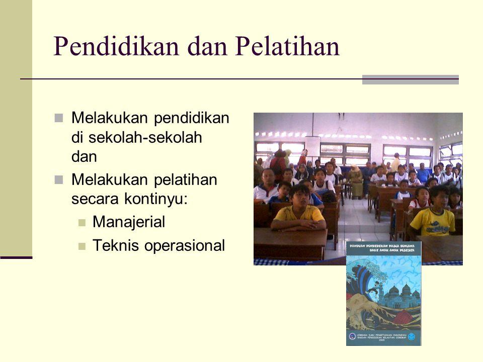 Pendidikan dan Pelatihan