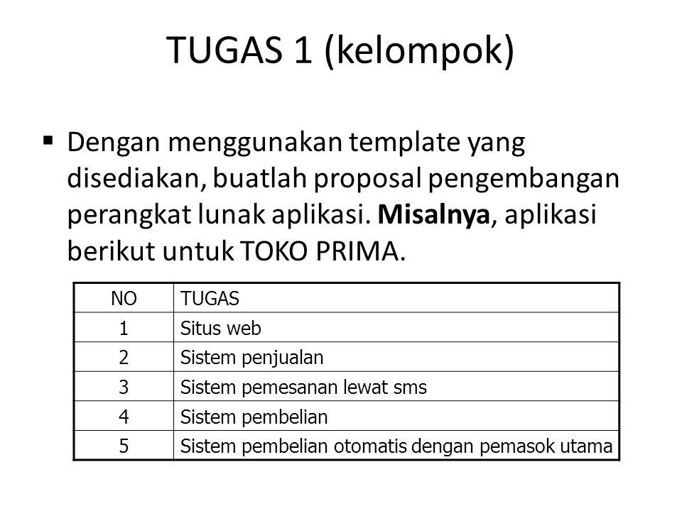 TUGAS 1 (kelompok)