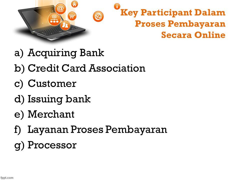 Key Participant Dalam Proses Pembayaran Secara Online
