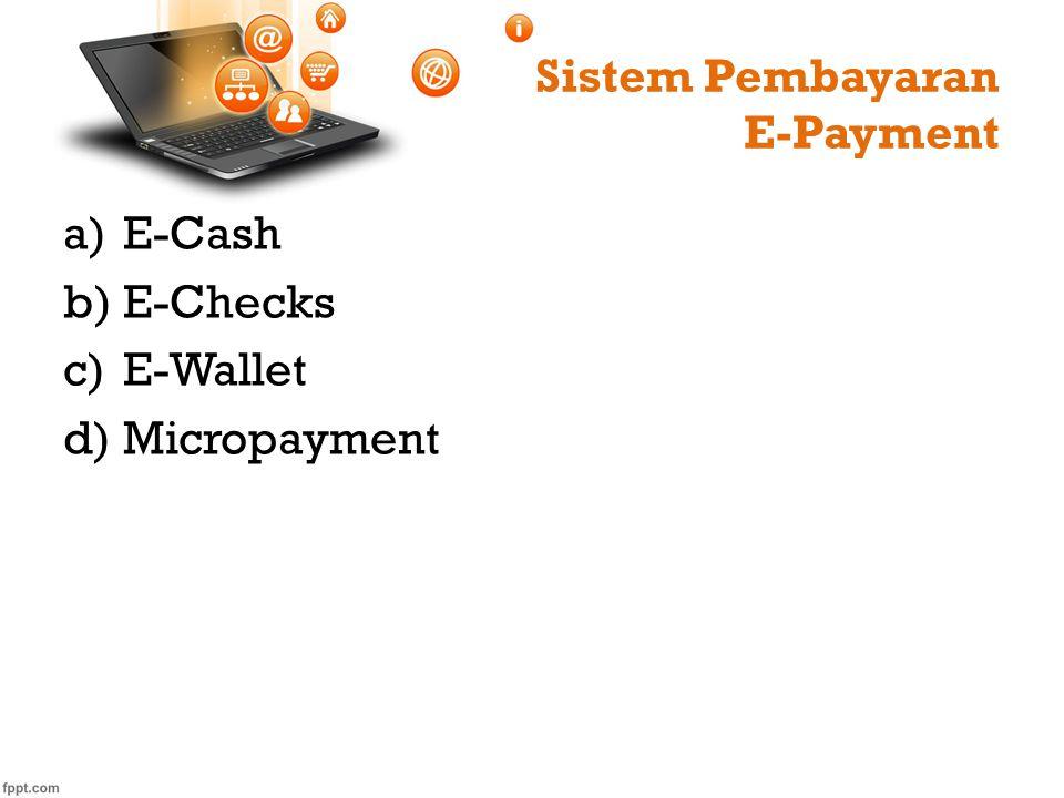 Sistem Pembayaran E-Payment