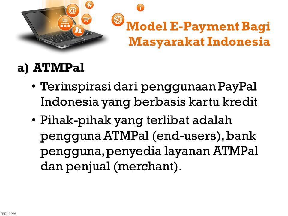 Model E-Payment Bagi Masyarakat Indonesia