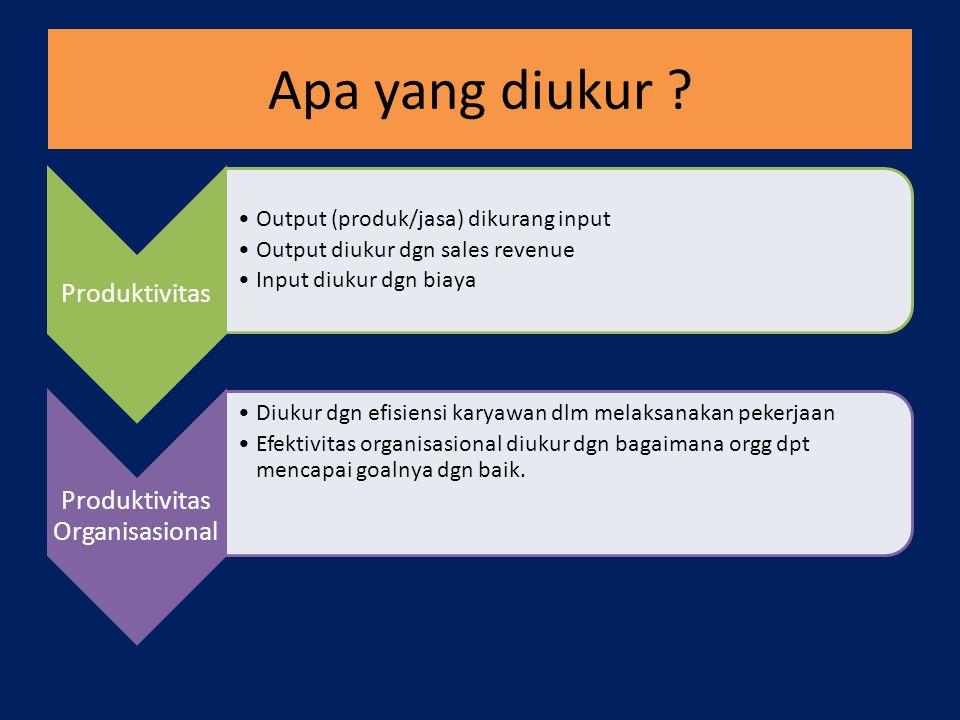 Produktivitas Organisasional