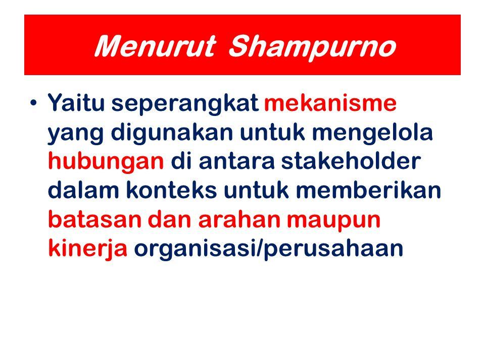 Menurut Shampurno