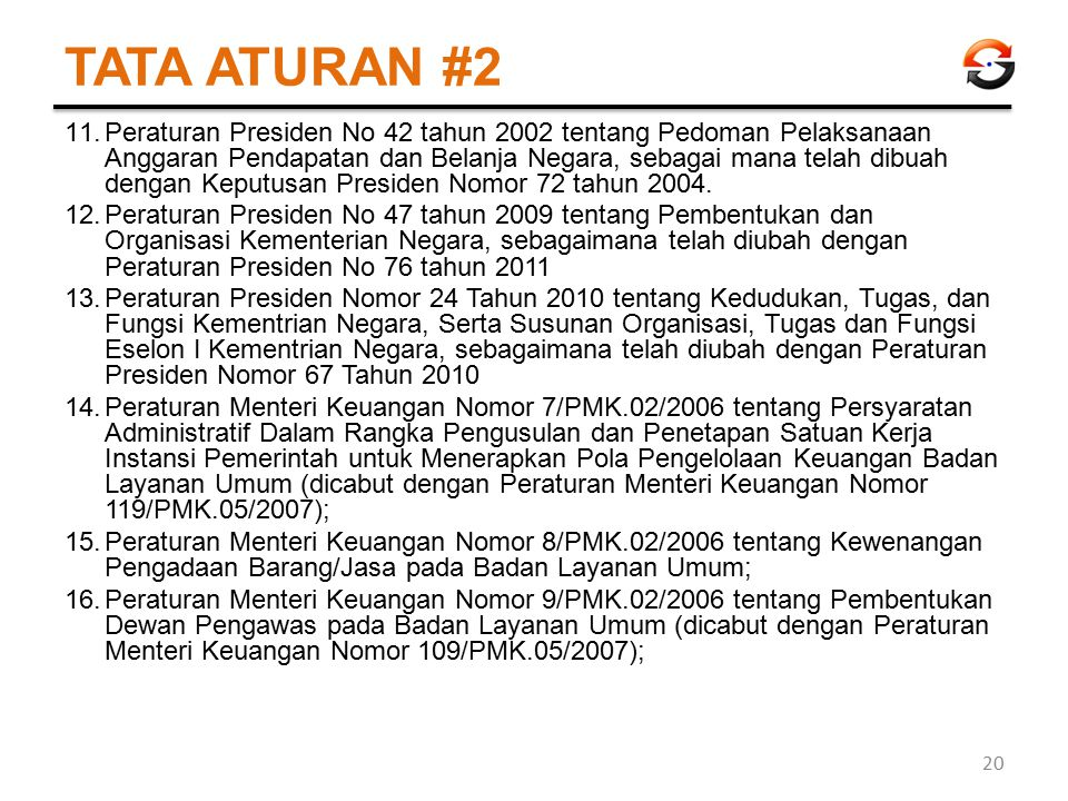 TATA ATURAN #2