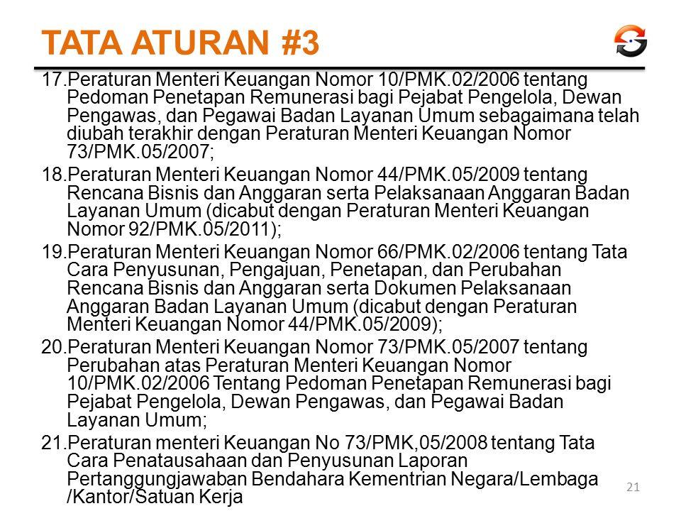 TATA ATURAN #3
