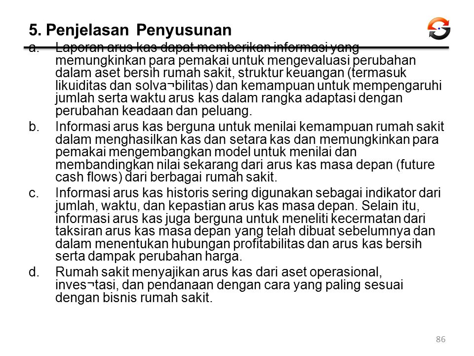 5. Penjelasan Penyusunan