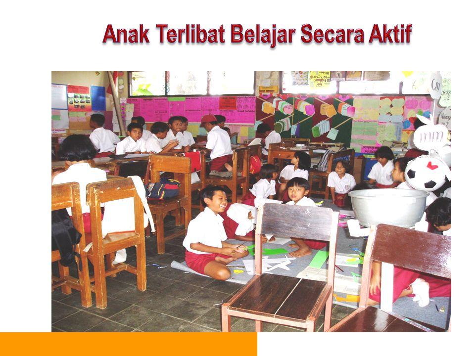 Anak Terlibat Belajar Secara Aktif