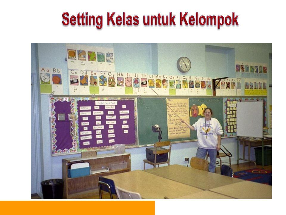 Setting Kelas untuk Kelompok