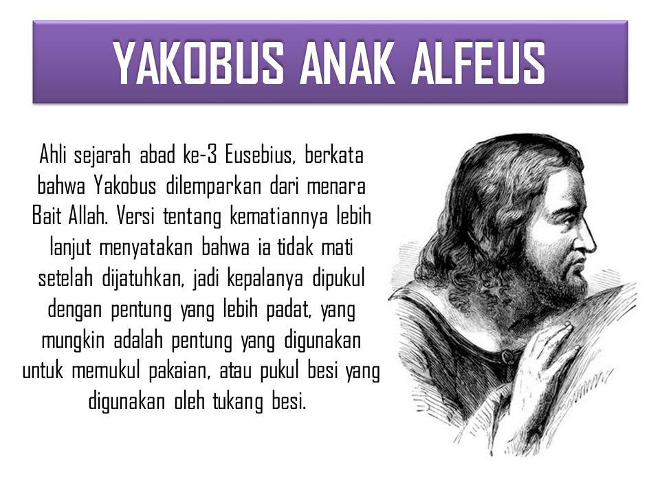 YAKOBUS ANAK ALFEUS
