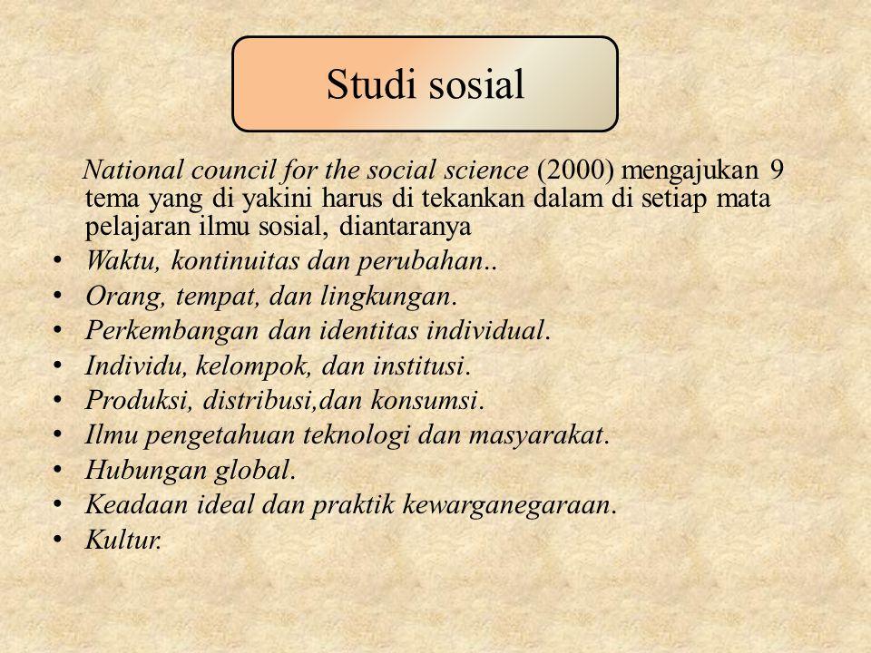 Studi sosial