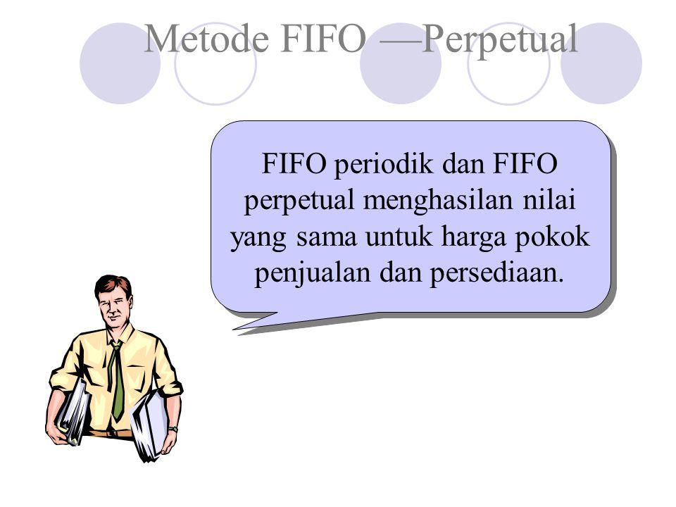 Metode FIFO —Perpetual