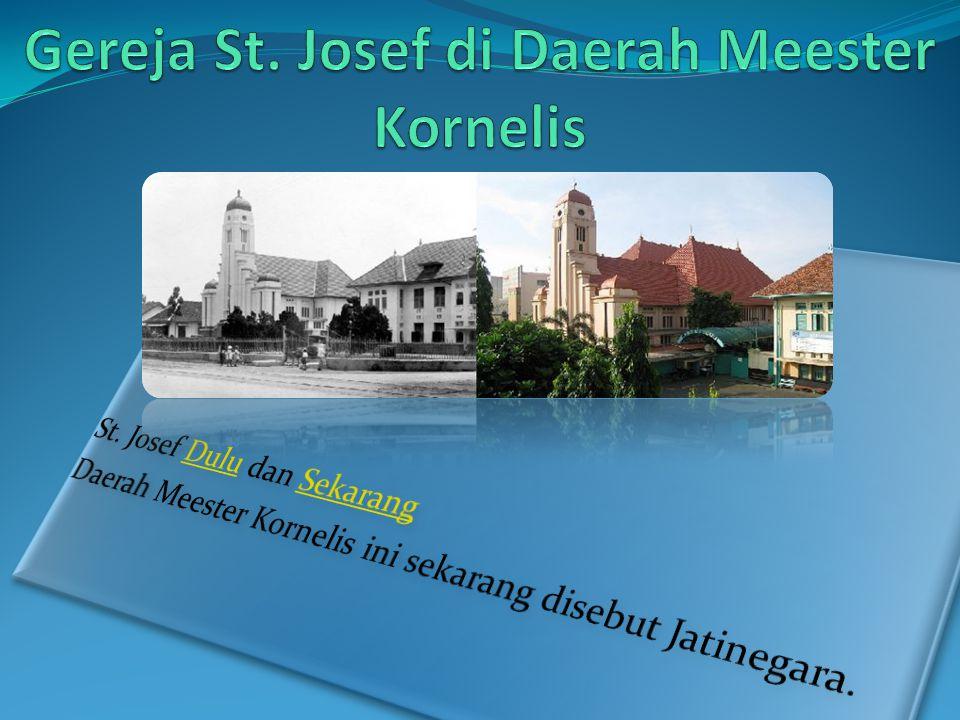 Gereja St. Josef di Daerah Meester Kornelis