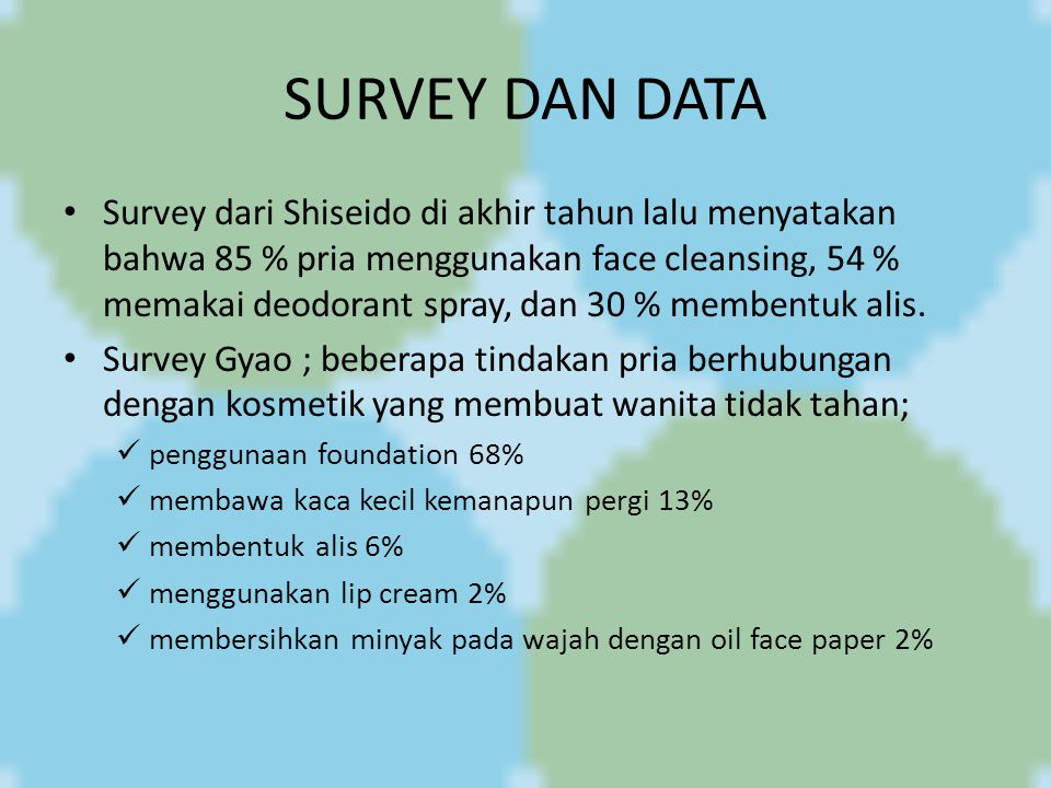 SURVEY DAN DATA