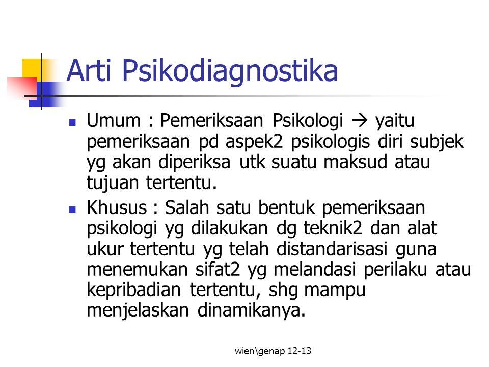 Arti Psikodiagnostika