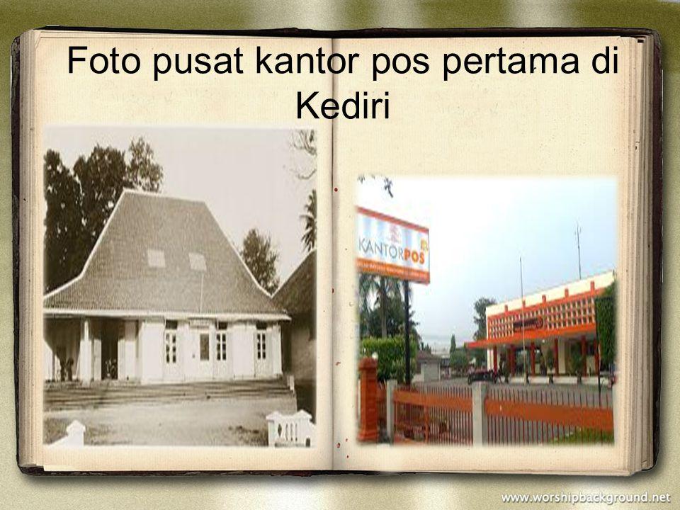 Foto pusat kantor pos pertama di Kediri