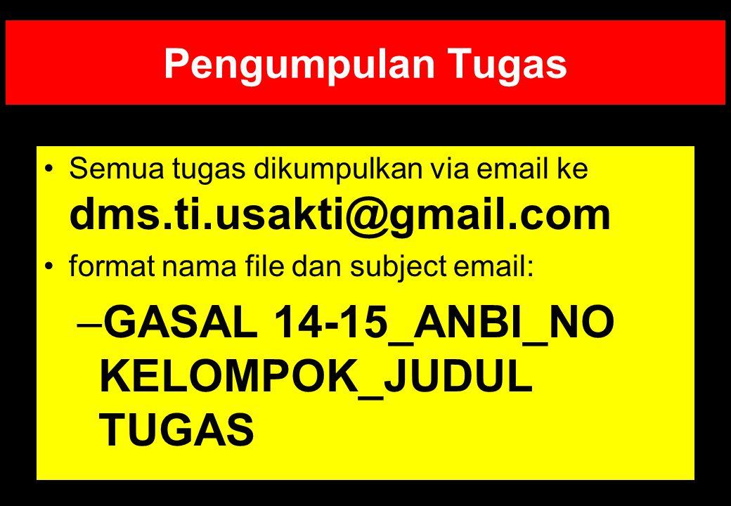 GASAL 14-15_ANBI_NO KELOMPOK_JUDUL TUGAS